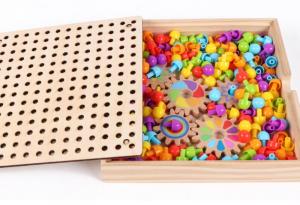 Joc de Lemn Mozaic 2 in 1 cu Planse8