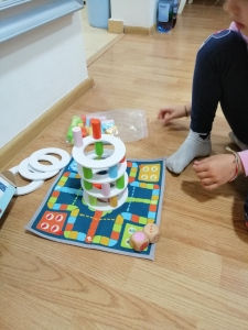 Joc din lemn Stivuire Turnul colorat Pisa Tower [14]
