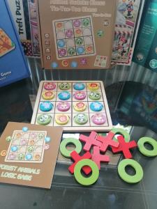 Joc Din Lemn X si 0 si Sudoku - Joc Lemn 2 in 1 x si 00