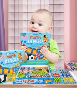 Joc educativ matematica Bingo simplu2