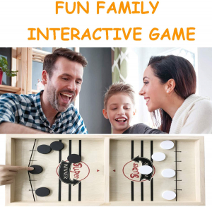 Joc lemn Hochei aerian Board Game - Joc de masa Slingpuck Hochei5