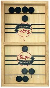 Joc lemn Hochei aerian Board Game - Joc de masa Slingpuck Hochei1