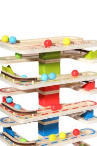 Joc Lemn interactiv Circuit cu Bile2
