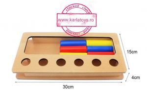 Joc Lemn Montessorii Sortator Peg Box - Joc Lemn Sortator Pioni.5