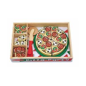 Joc lemn Pizza Party 54 de piese Melissa and Doug2