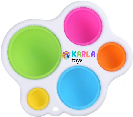 Joc Senzorial Dimple Fidget Placa de exerciti senzoriala copii [0]