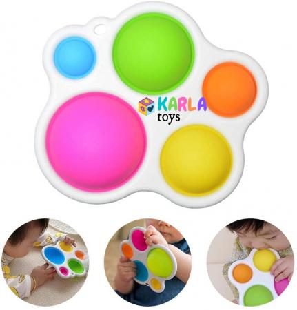 Joc Senzorial Dimple Fidget Placa de exerciti senzoriala copii [3]