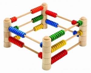 Abac Montessori din lemn multifunctional4
