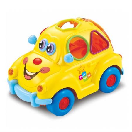 Jucarie interactiva bebe Masinuta Smart Bus [2]