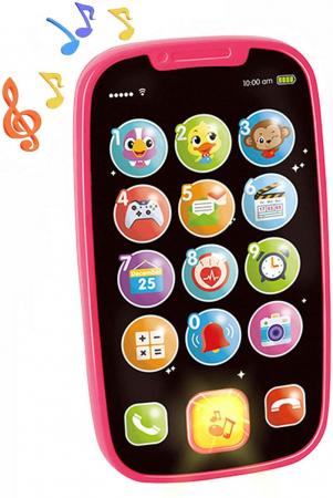 Jucarie Primul Meu Telefon Smart cu muzica si lumin Hola [0]