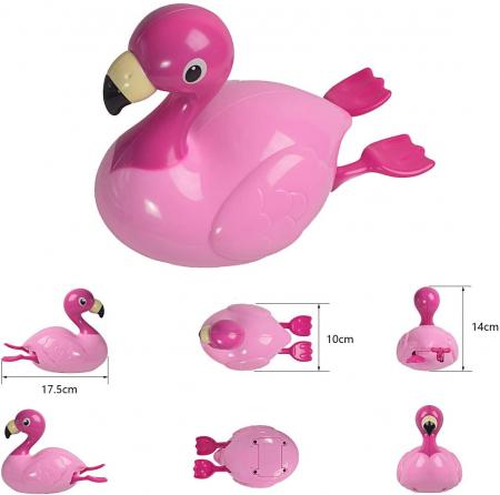 Jucarie de baie Flamingo3