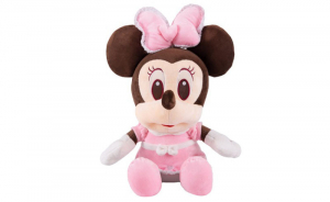Jucarie de plus Mickey Bleu - Minnie Mouse Roz cu palarie3