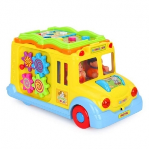Jucarie  bebe Autobuzul  Scolii Muzical0