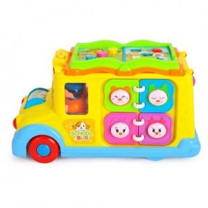Jucarie  bebe Autobuzul  Scolii Muzical1