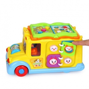 Jucarie  bebe Autobuzul  Scolii Muzical2