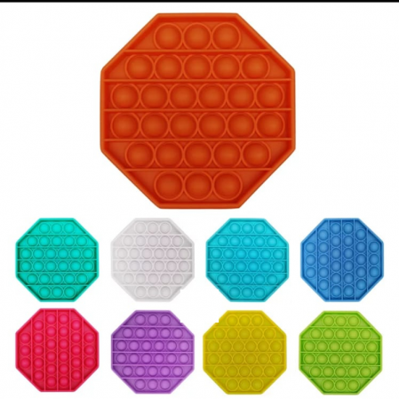 Jucarie interactiva de silicon Pop It Bubble Fidget Octogon [0]