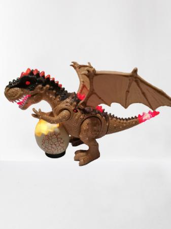Jucarie interactiva Dinozaur cu sunete si lumini0