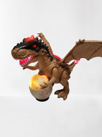 Jucarie interactiva Dinozaur cu sunete si lumini2