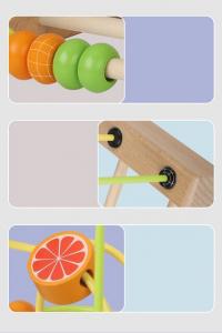 Jucarie Montessori labirint cu bile si abac5