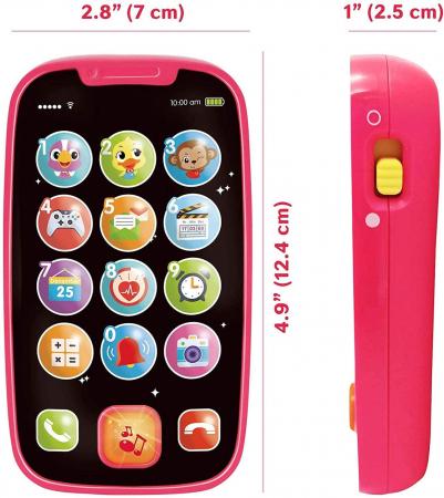 Jucarie Primul Meu Telefon Smart cu muzica si lumin Hola [2]
