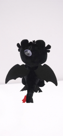 Jucarie de Plus Dragonul Night Fury Cum sa iti dresezi Dragonul [4]