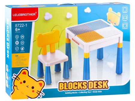 Masa Cuburi Lego cu scaun si spatiu de depozitare [3]
