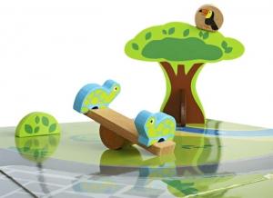 Masa de joaca  din lemn Gradina zoologica5