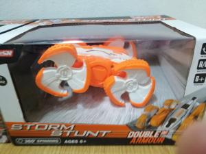 Masinuta cu telecomanda 360 grade copii Storm Stunt9
