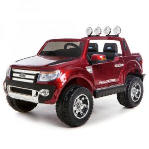 Masinuta electrica Ford Ranger 4x4 petru copii Visiniu0