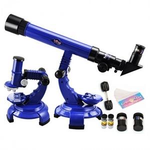 Set telescop si microscop 2 in 1 pentru copii [0]
