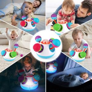 Mingie senzoriala Bebelusi cu lumini si sunete [4]