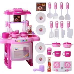 Bucatarie mini pentru copii cu lumini si sunete1