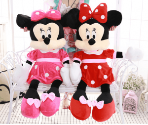 Jucarie din pus Minnie Mouse mare 1m0