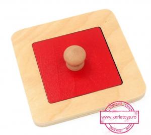 Puzzle Forme Geometrice  Educatia Montessori  Set 4 Puzzle3