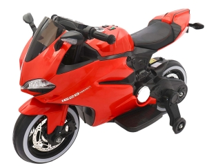 Motocicleta electrica 12 v acceleratie pe ghidon Ride on Bike1