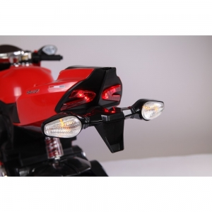 Motocicleta electrica 12 v acceleratie pe ghidon Ride on Bike3