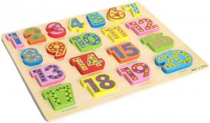 PuzzleLemn 3D Numere Mari In Engleza4