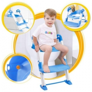 Scaun cu scarita toaleta pentru copii 3 in 10