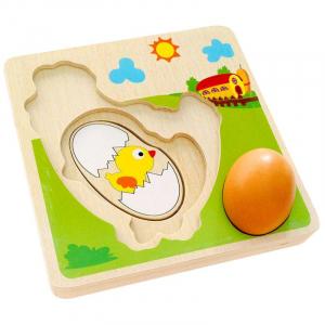 Puzzle din Lemn in Straturi Ciclul Vietii Puiul - Puzzle Lemn Multistraturi Ciclul Vietii Puiul2