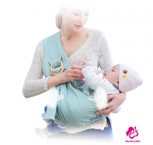 Port Bebe multifunctional Baby Wrap - Marsupiu stil fasa bebe [4]