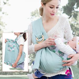 Port Bebe multifunctional Baby Wrap - Marsupiu stil fasa bebe [5]