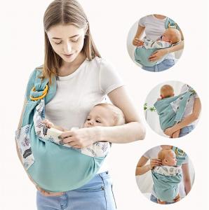 Port Bebe multifunctional Baby Wrap - Marsupiu stil fasa bebe [9]