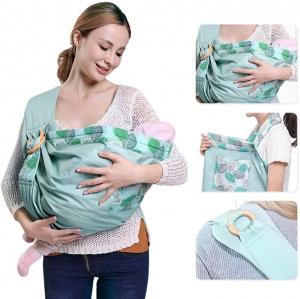 Port Bebe multifunctional Baby Wrap - Marsupiu stil fasa bebe [8]
