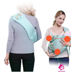 Port Bebe multifunctional Baby Wrap - Marsupiu stil fasa bebe [2]