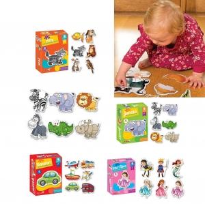 Puzzle bebe animale - Set 4 Cutie Puzzle bebe3