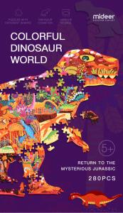 Puzzle educational Mare Elefant mozaic 280 piese Mideer11