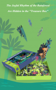 Puzzle educational Mare Elefant mozaic 280 piese Mideer9