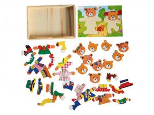 Puzzle lemn 2 ursuleti [2]