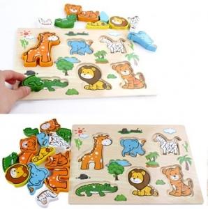 Puzzle lemn 3D4