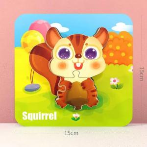 Puzzle Montessori incastru 3D - set 5 puzzle [5]